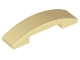 Part No: 93273  Name: Slope, Curved 4 x 1 Double No Studs
