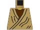 Part No: 973ps6  Name: Torso SW Old Obi-Wan Yellow Neck Pattern