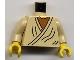 Part No: 973ps6c01  Name: Torso SW Layered Shirt Old Obi-Wan Yellow Neck Pattern / Tan Arms / Yellow Hands