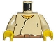 Part No: 973px82ac01  Name: Torso SW Closed Shirt, Brown Belt, Yellow Neck Pattern / Tan Arms / Yellow Hands