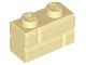 Lot ID: 166831494  Part No: 98283  Name: Brick, Modified 1 x 2 with Masonry Profile (Brick Profile)