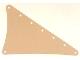 Part No: sailbb08  Name: Cloth Sail Triangular 15 x 22 with 8 Holes