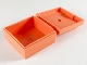 Part No: 33031  Name: Container, Box 3.5 x 3.5 x 1.3 with hinged lid
