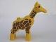 Part No: 2259c01pb02  Name: Duplo Giraffe Adult First Version Dense Spot Pattern