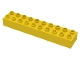 Part No: 2291  Name: Duplo, Brick 2 x 10