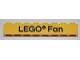 Part No: 3008pb061  Name: Brick 1 x 8 with Black 'LEGO Fan' Text Pattern on front and 'ANNO 1958' Text Pattern on back