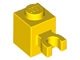 Part No: 30241  Name: Brick, Modified 1 x 1 with Clip Vertical