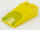 Part No: 30363px2  Name: Slope 18 4 x 2 with Lime Green Semicircle Pattern