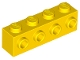 Part No: 30414  Name: Brick, Modified 1 x 4 with 4 Studs on 1 Side