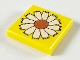 Part No: 3068pb35  Name: Tile 2 x 2 with Flower Pattern