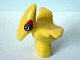 Part No: 31056px1  Name: Duplo Dinosaur Pteranodon Baby with Green and Red Around Eyes Pattern