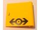 Part No: 3194pb02  Name: Door 1 x 5 x 4 Right with Train Logo Black Pattern (Sticker) - Set 4564