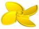 Part No: 35130  Name: Duplo Rotor 3 Blade, 4 Diameter (Propeller), Curved