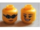 Part No: 3626bpb0688  Name: Minifig, Head Dual Sided Female Open Smile / Swimming Goggles Pattern - Blocked Open Stud