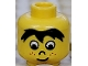 Part No: 3626bpx19  Name: Minifigure, Head Male Bangs and Freckles Pattern - Blocked Open Stud