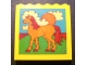 Part No: 3754pb21  Name: Brick 1 x 6 x 5 with Horse, Sun and Clouds Pattern (Sticker) - Set 232