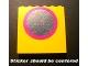 Part No: 3754pb22  Name: Brick 1 x 6 x 5 with Mirror with Dark Pink Frame Pattern (Sticker) - Set 232