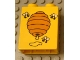 Part No: 4066bpx164  Name: Duplo, Brick 1 x 2 x 2 with Three Bees and Beehive Pattern