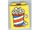Part No: 4066pb256  Name: Duplo, Brick 1 x 2 x 2 with Popcorn Pattern