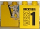 Part No: 4066pb349  Name: Duplo, Brick 1 x 2 x 2 with Toys 'R' Us Bricktober Week 1 Pattern
