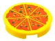 Part No: 4150p02  Name: Tile, Round 2 x 2 with Pizza Pattern