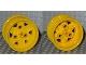 Part No: 41896  Name: Wheel 43.2mm D. x 26mm Technic Racing Small, 3 Pin Holes