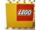 Part No: 4215apb11R  Name: Panel 1 x 4 x 3 - Solid Studs with Lego Logo Pattern Upper Right (Sticker) - Sets 1525 / 6692