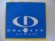 Part No: 4215pb056  Name: Panel 1 x 4 x 3 with Gravity Games Logo White on Blue Pattern (Sticker) - Set 3585