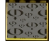 Part No: 4215pb059  Name: Panel 1 x 4 x 3 with Gravity Games Logo Repeating Black on Dark Gray Pattern (Sticker) - Set 3585