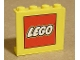 Part No: 4215pb060  Name: Panel 1 x 4 x 3 with Lego Logo Pattern (Sticker) - Set 4549