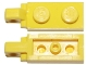 Part No: 44301b  Name: Hinge Plate 1 x 2 Locking with 1 Finger On End without Bottom Groove