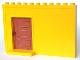 Part No: 4901c01  Name: Duplo Building Wall 1 x 11 x 6 with Sliding Pocket Door