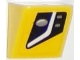 Part No: 54200pb076L  Name: Slope 30 1 x 1 x 2/3 with Chevrolet Corvette Lower Headlight Pattern Model Left Side (Sticker) - Set 75870