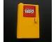 Part No: 58381pb01  Name: Door 1 x 3 x 4 Left - Open Between Top and Bottom Hinge (New Type) with Lego Logo Pattern (Sticker) - Set 3221