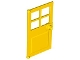 Part No: 60623  Name: Door 1 x 4 x 6 with 4 Panes and Stud Handle