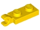Part No: 63868  Name: Plate, Modified 1 x 2 with Clip Horizontal on End