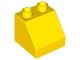 Part No: 6474  Name: Duplo, Brick 2 x 2 Slope 45