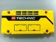Part No: 64782pb005R  Name: Technic, Panel Plate 1 x 5 x 11 with Grilles, Hatches and LEGO TECHNIC Logo Pattern Model Right Side (Sticker) - Set 42009