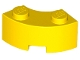 Part No: 85080  Name: Brick, Round Corner 2 x 2 Macaroni with Stud Notch and Reinforced Underside