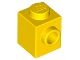 Part No: 87087  Name: Brick, Modified 1 x 1 with Stud on 1 Side