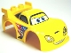 Part No: 98249pb01  Name: Duplo Car Body 2 Studs on Spoiler with Cars Jeff Gorvette Pattern