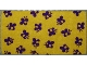 Part No: dupcloth01  Name: Duplo Cloth 4 x 8 with Purple Bee Pattern