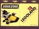 Part No: 4066pb219  Name: Duplo, Brick 1 x 2 x 2 with Aquazone Wave Racers Pattern