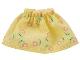 Part No: belvskirt31  Name: Belville, Clothes Skirt Short, Pink Flowers Pattern (Set 5860)