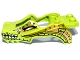 Lot ID: 147891166  Part No: 11112pb01  Name: Flywheel Fairing Crocodile Shape with Gold and White Crocodile Pattern (70103)
