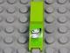 Part No: 50947pb013L  Name: Vehicle, Mudguard 1 x 4 1/2 with Silver Headlights Pattern Model Left (Sticker) - Set 8133
