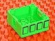 Part No: 47423pb08  Name: Duplo Container Box 4 x 4 with Studs on Corners with Four Squares Pattern