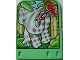 Part No: 43977  Name: Storybuilder Jungle Jam Card with Elephant Pattern