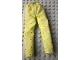 Part No: scl068  Name: Scala, Clothes Female Pants with Red Dots in Yellow Circles Pattern