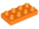 Part No: 40666  Name: Duplo, Plate 2 x 4
